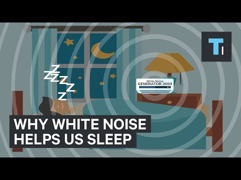 Thumbnail: Here's why white noise helps us sleep