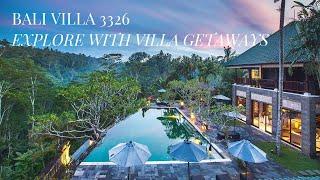 Experience this elegant 7 bedroom villa in Ubud, Bali.
