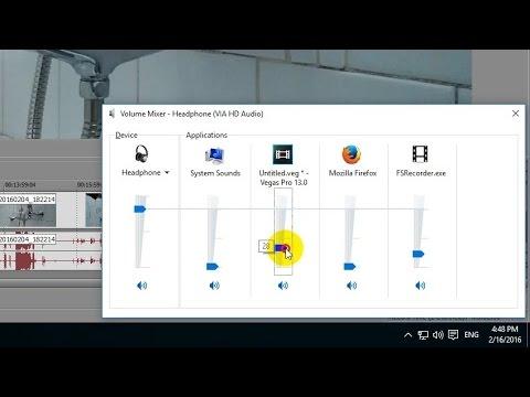 How to Control Sound Volume under Windows 10