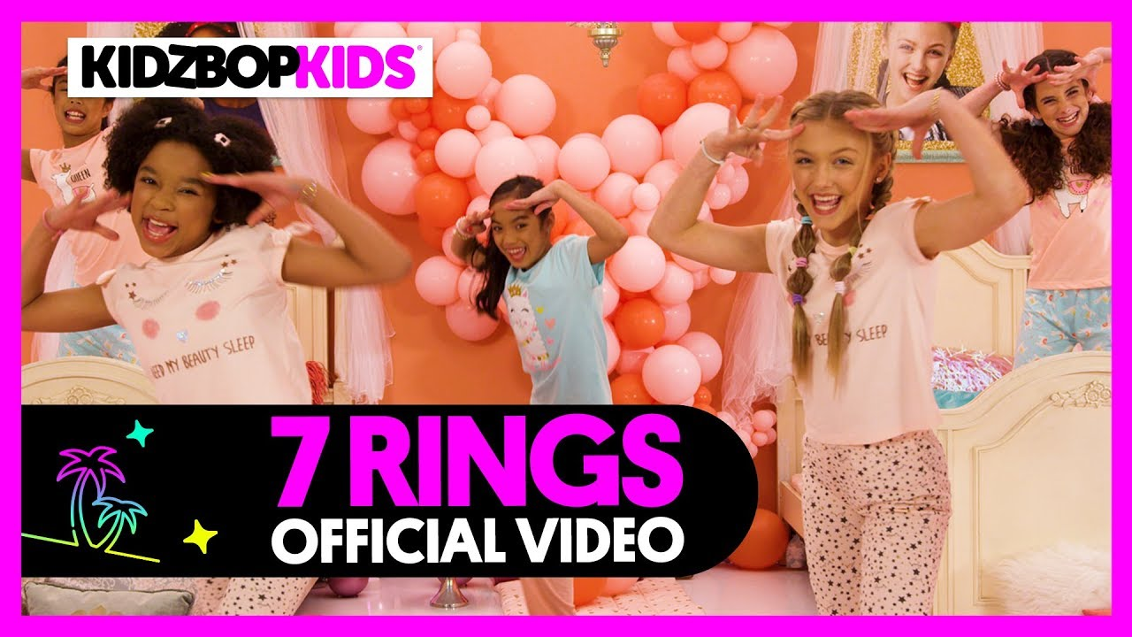 4c76852e3 KIDZ BOP Kids - 7 Rings (Official Music Video) - YouTube