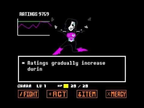 UNDERTALE Mettaton EX Fight (Colored Sprite Mod)