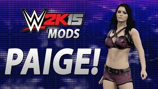 WWE 2K15 Mods: Play As Paige!