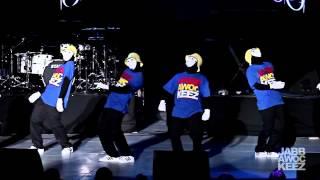 jabbawockeez at rebuild philippines a benefit concert 2014