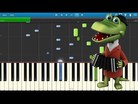 крокодил гена песня с днем рождения подряд