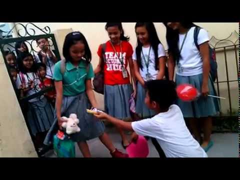 Bagito Valentine day proposal San Fernando Pampanga