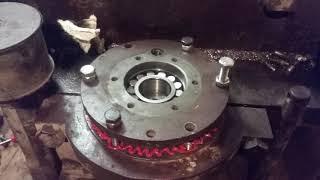Ремонт віброплити 200 кг, заміна підшипників
