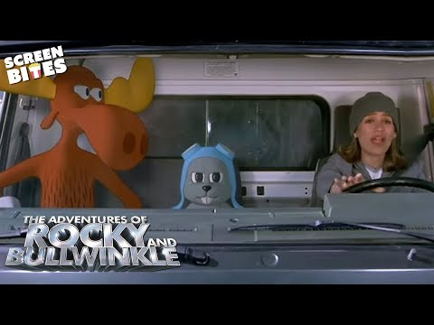 The Adventures Of Rocky And Bullwinkle - The arrest Piper Perabo, John Goodman OFFICIAL HD VIDEO