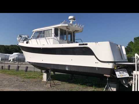 Used 2001 Osprey 30 Pilothouse For Sale