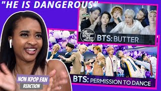 BTS 'Permission to Dance & Butter'   NON KPOP FAN REACTS   The Tonight Show Starring Jimmy Fallon