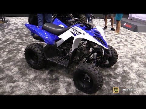 2016 Yamaha Raptor 90 Sport ATV - Walkaround - 2015 AIMExpo Orlando
