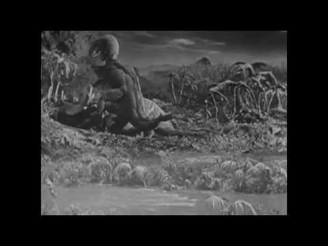 The Lost World (1925): Triceratops Vs Tyrannosaurus Rex with Sound!