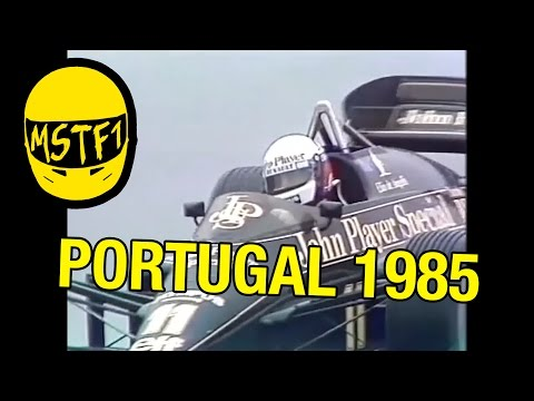 1985 Portuguese Grand Prix – Mystery Science Theater F1