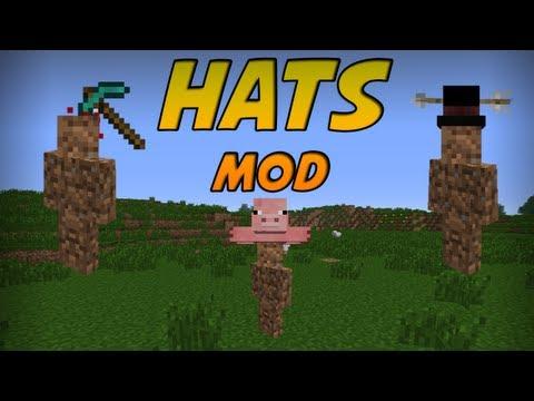 Minecraft Mods - Hats Mod! 70+ Hats! [1.5.1]