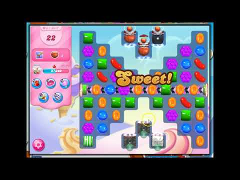 Candy Crush Level 2917 Talkthrough, 42 Moves 0 Boosters