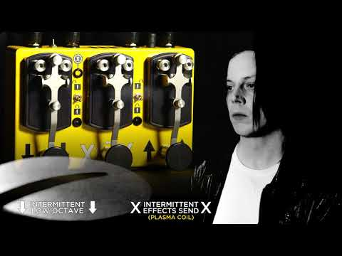 CopperSound Pedals + Jack White Present: Third Man Triplegraph Digital Octave Pedal