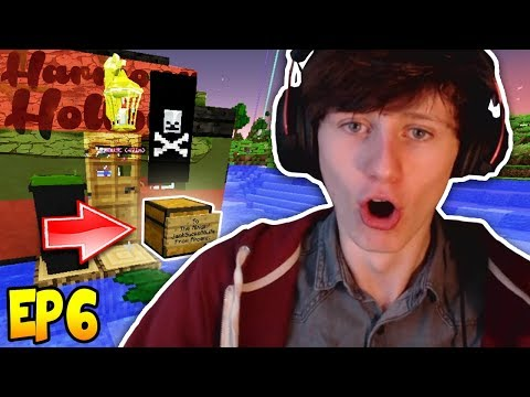 THIS WAS LEFT OUTSIDE MY DOOR! - Minecraft Harmony Hollow Modded SMP EP6 S3