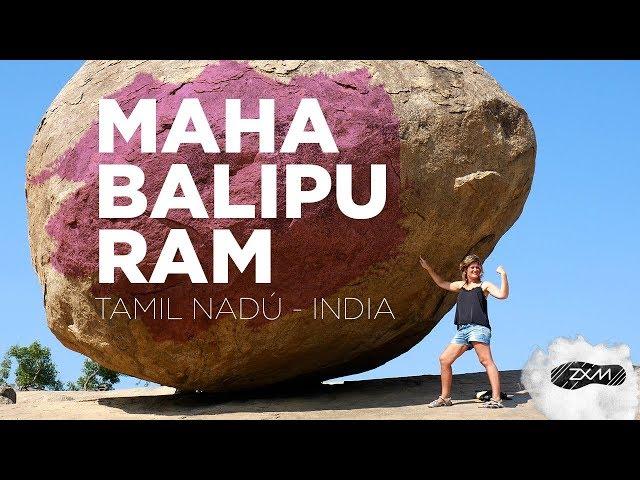 Mahabalipuram - que ver en el estado de Tamil Nadú - INDIA- ZXM
