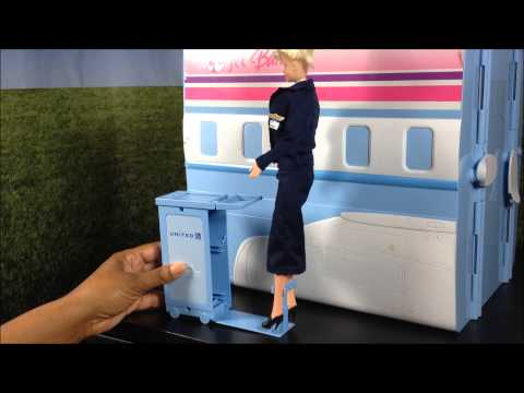 2-in-1 Barbie Plane and Cruise Ship