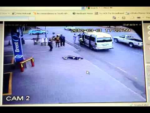 Don't J walk in Johannesburg (CCTV footage)