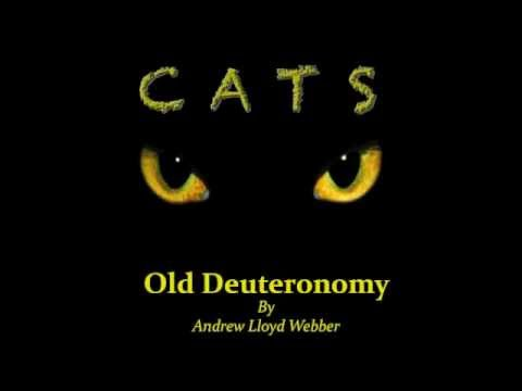 Old Deuteronomy from CATS! (for piano)