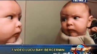 Download Video On The Spot - 7 Video Lucu Bayi Bercermin MP3 3GP MP4