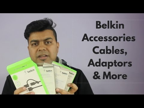 Belkin iPhone Lightning Cable, Fast Car Charger, Hybrid Cable Unboxing, Review