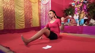 Srijita Majhi Best performance in yoga @Brindabanpur Pragati Sangha