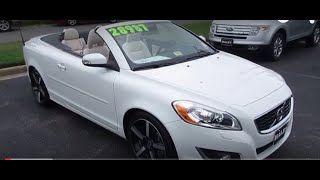 2012 Volvo C70 T5 Inscription Walkaround, Start up, Tour and Overview