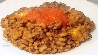 Nigerian Beans and Plantain Porridge | Nigerian Food Recipes