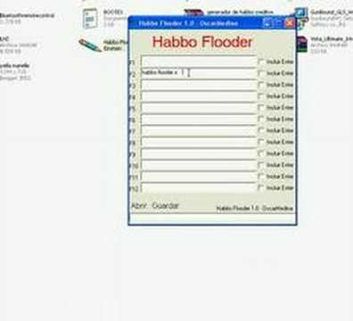 habbo flooder