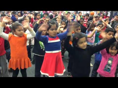 Mountain Ash PS Kindergartens present the Polka Dot Pants Dance