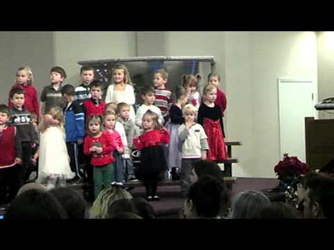 Gavin- Grace Christian Preschool Christmas Party