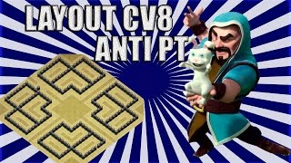 LAYOUT PERFEITO CV8 - ANTI PT (Farm e Guerra)
