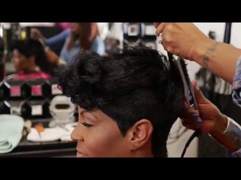 HOW TO CUT A FUNKY PIXIE (using clippers&shears)