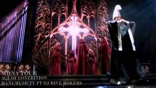 Madonna Openning Act Of Contrition MDNA TOUR blu ray fanmade