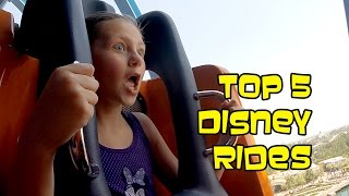 Top 5 Disneyland Rides - With Tips | Bethany G