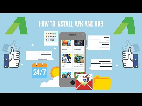 How To Install APK And OBB?
