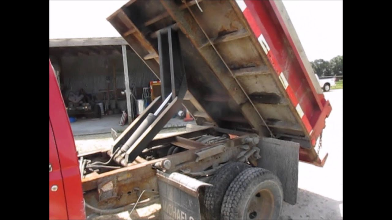 1992 Ford F350 Custom dump bed truck for sale