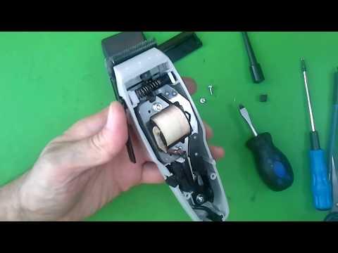 Как собрать машинку для стрижки волос Moser 1400 Edition | Collect The Machine Moser Moser 1400