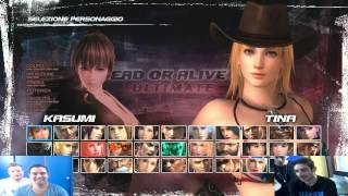 dead or alive 5 ultimate - LA SFIDA A 4 - xbox360