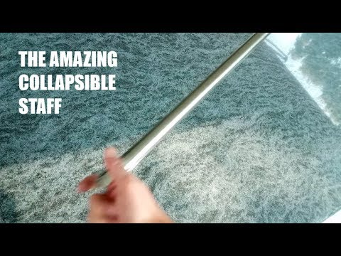 The Amazing Collapsible Staff / Pocket Staff / Pocket Cane Tutorial! In  Various Colors & Lengths!