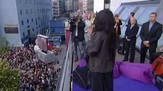 Loreen in Stockholm after victory in ESC - Euphoria (Acoustic) (Part II)