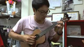"""""""Doraemon"""" theme 小叮噹 ドラえもん(ukulele) solo"""