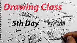 Drawing Class, 5th Day