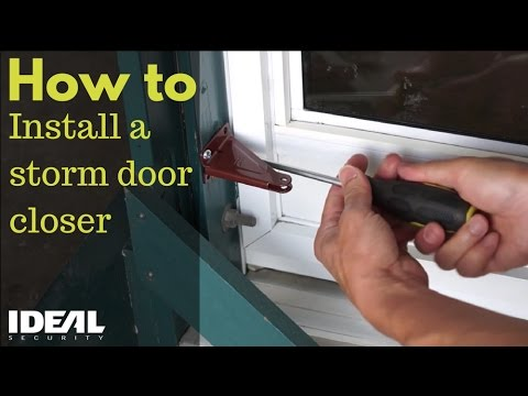 How To Replace Storm Door Closer Tcworks Org