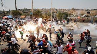 Kudüs'te gerginlik şiddete dönüştü