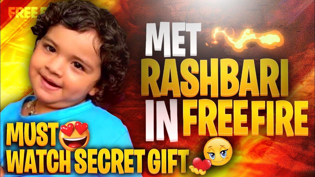 9 YEAR OLD CUTE GIRL GOT GIFT FROM ME ONLY COZ OF HER CUTE VOICE || I MET RASHBHARI IN GAME || FREE