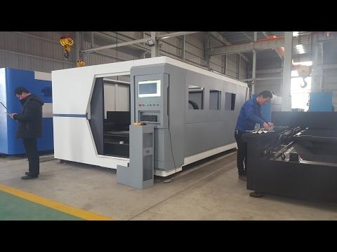 KRRASS Power Platino Fiber with 1.5kw Laser Cutting machine from China