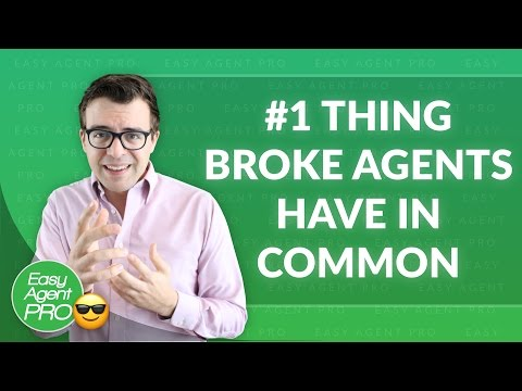 The #1 Thing All Broke Real Estate Agents Have In Common