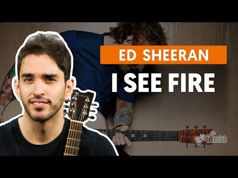 I See Fire - Ed Sheeran (aula de violão completa)